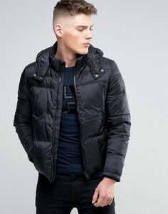 Пуховик с капюшоном Calvin Klein Jeans - Черный