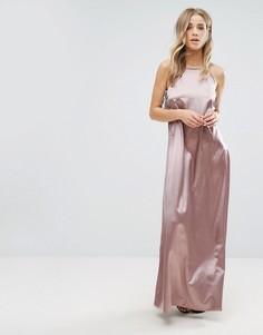 Длинное платье-комбинация Glamorous - Фиолетовый