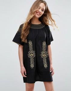Платье-рубашка Ivana Helsinki Moomin Mimmi - Темно-синий