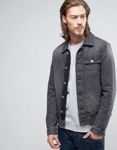 Джинсовая куртка AllSaints - Серый