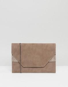 Клатч-конверт Lavand - Коричневый