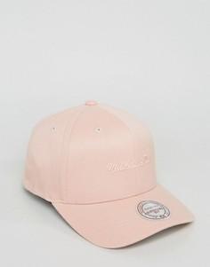 Розовая бейсболка Mitchell & Ness 110 - Розовый