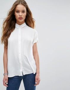 Рубашка с короткими рукавами Samsoe & Samsoe Moffa - Белый