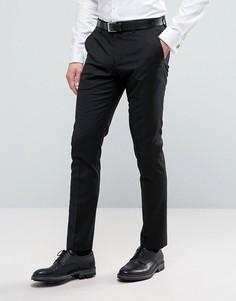 Узкие строгие брюки Selected - Черный