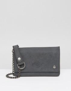 Кожаный кошелек Dickies Deedsville - Черный