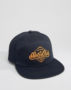 7-панельная кепка Dickies Hennings - Темно-синий