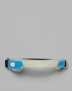 Синий браслет на предплечье со светодиодными лампами Hama Active Sports - Синий