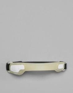 Белый браслет на предплечье со светодиодными лампами Hama Active Sports - Белый