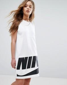 Платье-майка мини Nike - Белый
