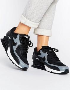 Чернык кроссовки Nike Air Max 90 - Черный
