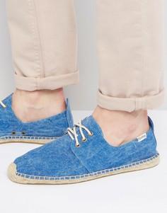 Эспадрильи со шнуровкой Soludos - Синий