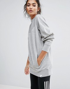 Серый свитшот adidas XByO - Серый