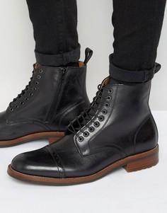 Теплые ботинки на шнуровке ALDO Beoduca - Черный