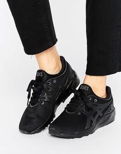 Черные сетчатые кроссовки Asics Gel Kayano Evo - Черный