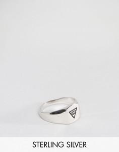 Серебряное кольцо-печатка со всевидящим оком Serge De Nimes - Серебряный