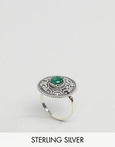Серебряное кольцо с малахитом Regal Rose Balula - Серебряный