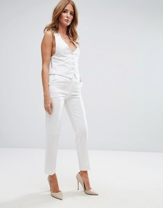 Укороченные брюки Millie Mackintosh Lava - Белый