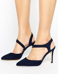Темно-синие туфли Coast - Синий