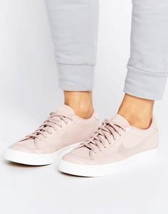 Кроссовки премиум-класса с перфорированной галочкой Nike All Court - Розовый