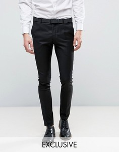 Черные суперузкие брюки Heart & Dagger - Черный