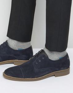 Замшевые туфли дерби Jack & Jones Billy - Темно-синий