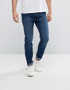 Зауженные джинсы с выбеленным эффектом Bellfield - Синий
