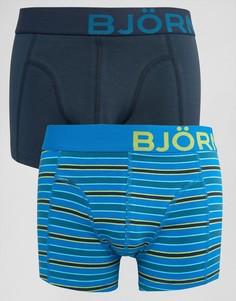 Комплект из 2 боксеров-брифов Bjorn Borg - Темно-синий