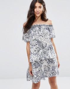 Платье с короткими рукавами Vila Luci - Мульти