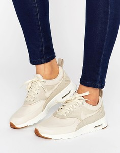 Кроссовки овсяного цвета Nike Air Max Thea - Бежевый