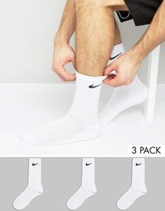 Набор из 3 пар белых носков Nike SX4700-101 - Белый