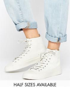 Высокие кроссовки ASOS DOOLA - Серый