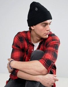 6-панельная шапка Volcom Full Stone Xfit - Черный