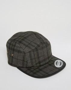 Темно-серая 6-панельная кепка Volcom Mill - Серый