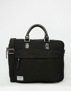 Черная сумка для ноутбука Sandqvist Pontus - Черный