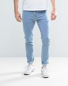 Зауженные светло-голубые джинсы ASOS - Синий