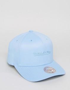Голубая бейсболка Mitchell & Ness 110 - Синий