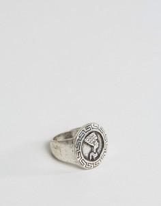 Шлифованное золотистое кольцо в египетском стиле ASOS - Золотой