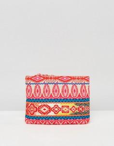 Плетеный клатч ASOS BEACH - Мульти