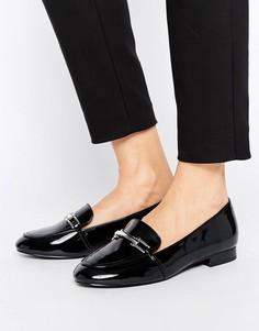 Туфли на плоской подошве с пряжкой Faith Abi - Черный