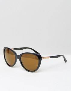 Черные солнцезащитные очки с зеркальными стеклами Ted Baker Belle - Черный