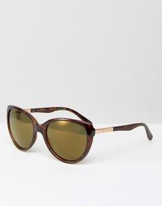Солнцезащитные очки в черепаховой оправе Ted Baker Belle - Коричневый