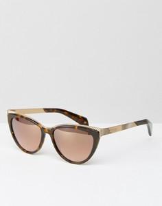 Солнцезащитные очки кошачий глаз Ted Baker Swift - Коричневый