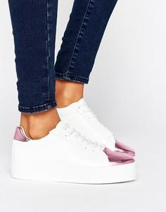 Кроссовки на шнуровке ASOS DEFINITELY - Мульти