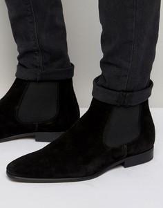 Замшевые ботинки челси KG Kurt Geiger Francis - Черный