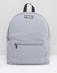 Серый парусиновый рюкзак Dr Martens - Серый