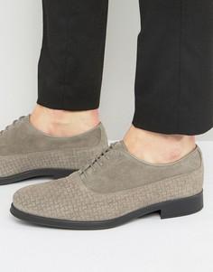 Замшевые туфли Selected Homme Oliver - Серый