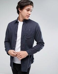 Джинсовая классическая рубашка с карманом Jack & Jones Originals - Черный