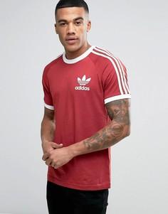 Красная футболка adidas Originals California BQ5370 - Красный