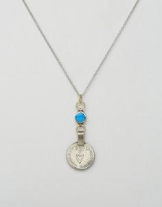 Ожерелье Rock N Rose Hana - Серебряный