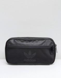 Черная сумка через плечо adidas Originals BK6836 - Черный